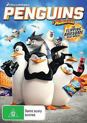Penguins Of Madagascar - The Movie - DVD Region 4 Free Shipping!