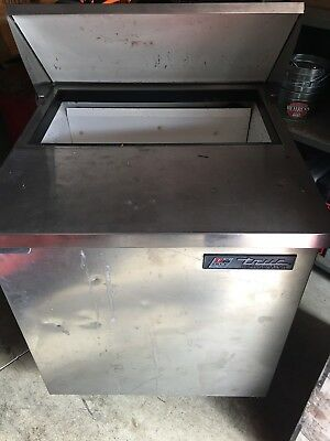 "True Tssu-27-8 27"" Refrigerated Prep Table"