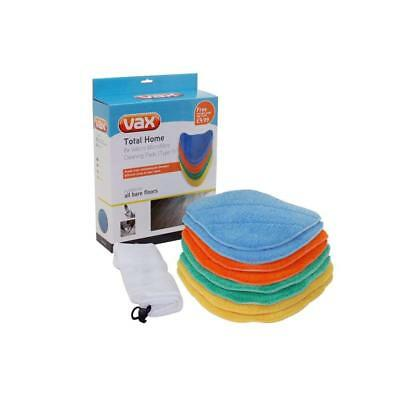 Vax 1113252800 Total Home Multi-Colour Microfibre Cleaning Pads Type 1 Pk Of 8