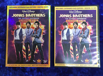 Jonas Brothers - The Concert Experience (DVD, 2009, 2-Disc Set, Includes Digital