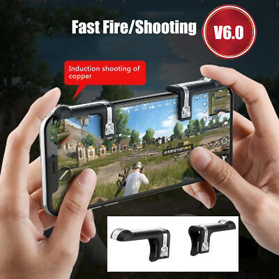 Mobile Phone Game Trigger Fire Button Handle L1R1 Shooter Controller for PUBG