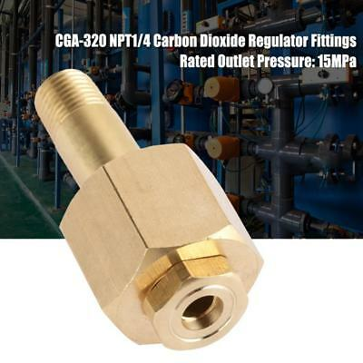 CGA-320 Carbon Dioxide Regulator Inlet Nut and Nipple with Washer UK