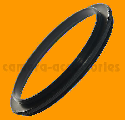 50mm 0.75mm pitch thread Male to 37mm Male Adapter Ring Spotting Scope coupling