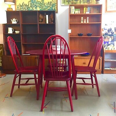Vintage Midcentury Ercol style dining setting by Melchair Melbourne
