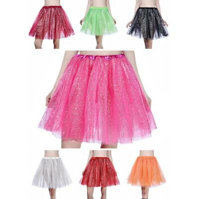 Sexy Womens Adults Tutu Skirt Princess Dressup Party Costume Ballet Dancewear