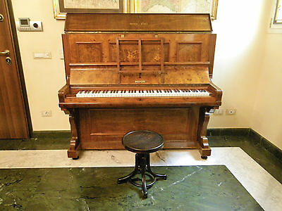 Grand Piano End Vertical 1800 Early 1900 Moon & Sons - Plymouth