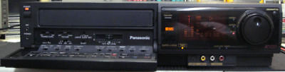 Panasonic Ag-1980 S-Vhs Svhs Editing Proline Vcr Great For Video Transfer To Dvd
