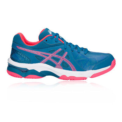 Asics Womens Gel-Netburner Academy 7 Netball Shoes Blue Sports Breathable