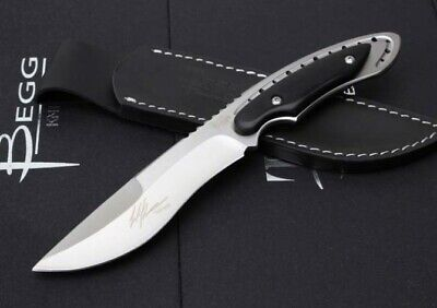 "Sharp Combat ""Eel"" Hot Selling Full Tang Rescue Ebony Hunting Bowie Knife"