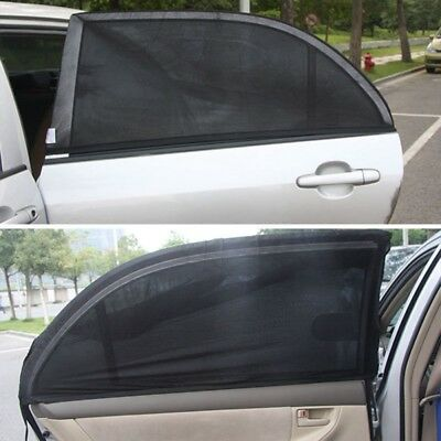 2pcs Car Sun Shades Cover Blocker for Rear Side Window Baby Kids UV Protection