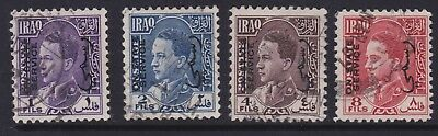 Iraq Early Stamps Unchecked O/P On State Service FU