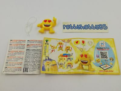 Se785 Emojoy + Bpz Kinder Merendero Italia 2018 Emoji Collection