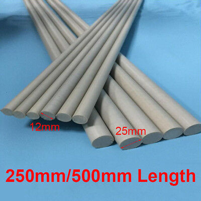 Natural Plastic Round Peek Bar Rod High Temperature Engineering 12mm/25mm Dia