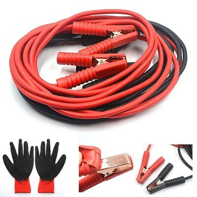 1200Amp Battery Jump Leads 6 Metre Long Booster Cables Car Van Truck Heavy Duty