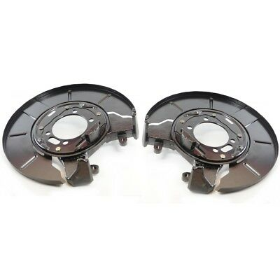 2X OEM QUALITY REAR ROTOR BRAKE BACKING PLATE SET Chrysler Voyager 1996-2007