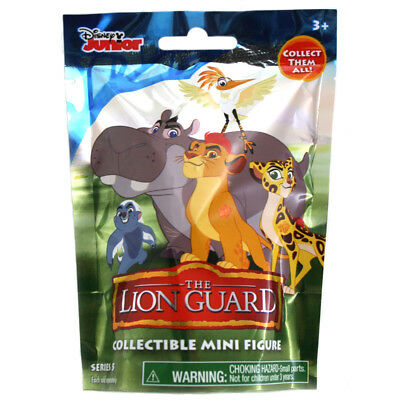 Disney The Lion Guard Collectable Mini Figure Blind Bag (Series 5) NEW, SEALED