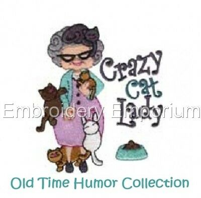 Old Time Humor Collection - Machine Embroidery Designs On Cd