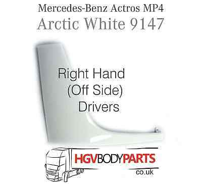 Mercedes Actros MP4 Headlight Trim Surround White Side Panel Right Hand Painted