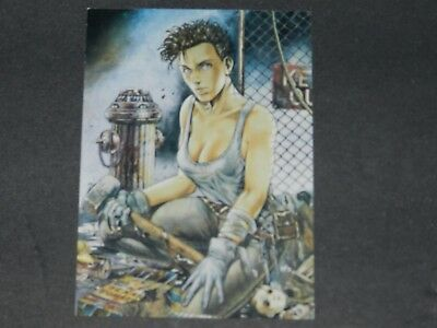 1995 Comic Images The Art Of Heavy Metal Promo