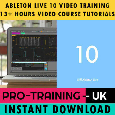 Ableton Live 10 – Professional Video Training Tutorial +13hrs - Instant Download