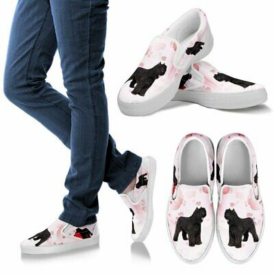 Valentine's Day Special-Bouvier des Flandres Print Slip Ons For Women-Free Shipp