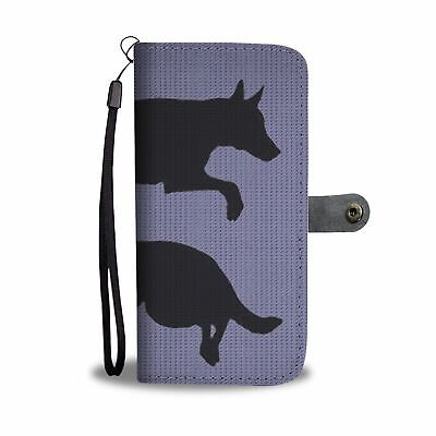 Malinois Dog (Belgian Malinois) Art Print Wallet Case-Free Shipping
