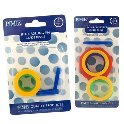 PME Rolling Pin Guide Rings - cake decoration tools
