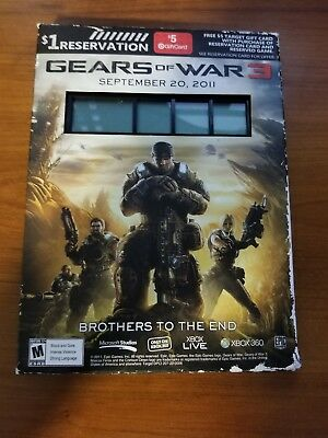 Gears of War 3 Countdown Clock