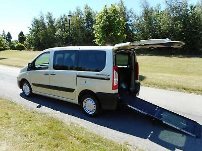 2013 63 Peugeot Expert Tepee 2.0 Hdi 6 SEATS Wheelchair Accessible Vehicle WAV