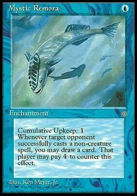 Mystic Remora ~ Ice Age ~ NearMint/Excellent+ ~ Magic The Gathering