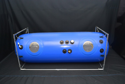 New 34in Hyperbaric O2 Chamber Clinic's Size AntiAging Free Safety Alarm &Gauge
