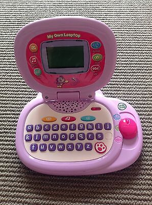Pre-Owned Leap Frog My Own Leaptop Girls Pink