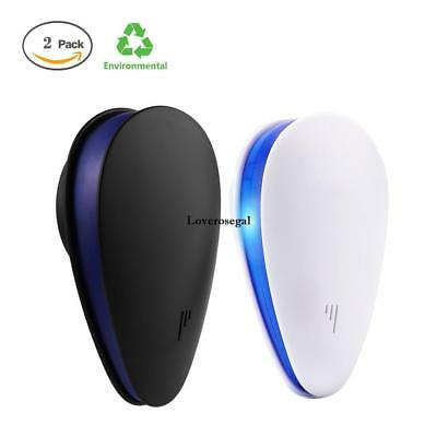 2Pcs Ultrasonic Electronic Indoor Mosquito Insect Cockroach Mosquito KECP 03