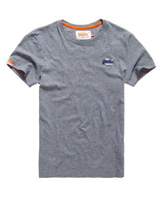 New Mens Superdry Surf Edition T-shirt Navy Grit