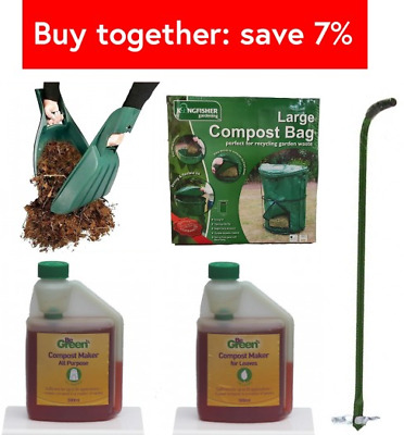 New Garden Waste COMPOSTING Kit For BEGINNERS - 3 Pcs SET Great VALUE