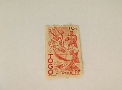 TOGO (French Colony) 1 loose Stamp - ideal collection starter stamp - LOOK!