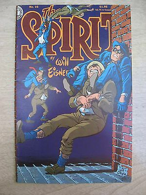 THE SPIRIT,  BY WlLL EISNER,  #16, #21 and #22. 1986. VF-NM.