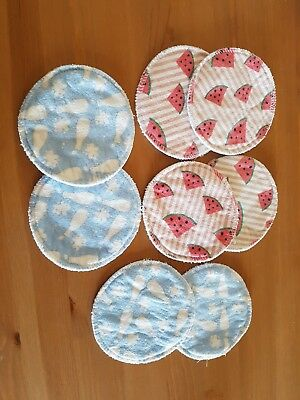 reusable washable breast pads x4