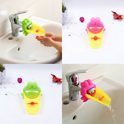 Cute Bathroom Faucet Extender For Children Toddler Kids Hand Washing Kids Hand