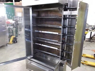 Old Hickory N/7GP 35 Chicken Commercial Rotisserie Oven (Natural Gas)