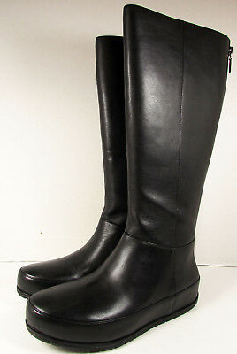 430df1bd71f20  275 FitFlop Womens DueBoot Twisted Zip Knee High Boot Shoes