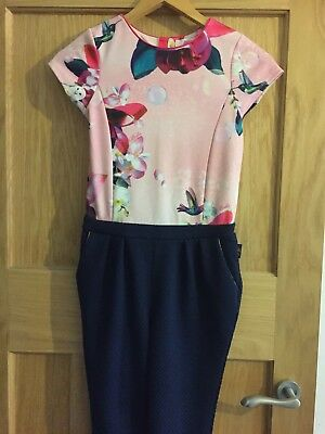 Ted Baker Girls Jumpsuit Age10