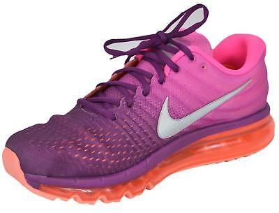 the best attitude 473bd 101ea NEW NIKE AIR MAX 2017 Ombre Pink $190 Women's Running Tennis Shoes 849560  502