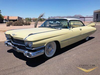 1959 Cadillac Coupe DeVille  1959 Cadillac Coupe DeVille - Factory A/C - Solid Southwest Car - Must See!!