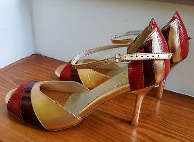Women's Custom Mr. Tango Diva Style Tango Shoes Never Worn!  - Size 11