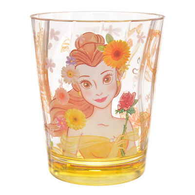 Princess Belle Acrylic Cup * Beauty and the Beast - Disney store Japan