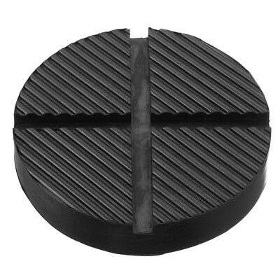 Rubber Pad Car vehicles Rail Disk Lifts Black 12.5*2.6cm Slotted Chassis Floor
