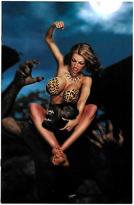 Cavewoman Lycan Run #1 Cvr F Ltd to 350 w/COA (Amryl, 2018) VF/NM