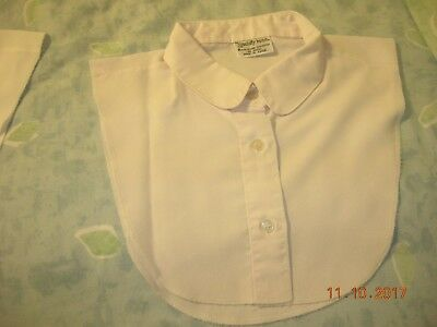 women's  white vintage dickie button-down(3) rounded collar Specialty House