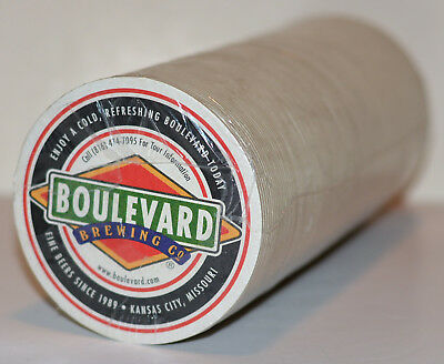 120 New Beer Coasters ~ Boulevard Brewing CO, Unfiltered Wheat, Kansas City
